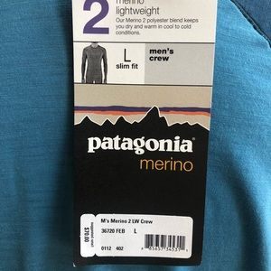 Patagonia Shirts - Patagonia Blue Long Sleeve Shirt